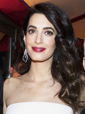 Amal Clooney Looks So Chic for Date Night in Italy
