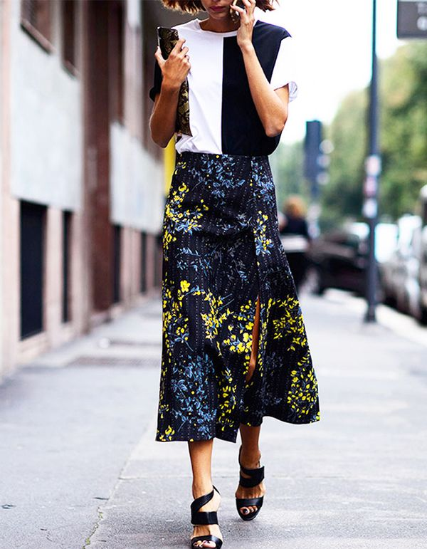Is there anything more fun than sashaying through the summer breeze in an effortless midi skirt?