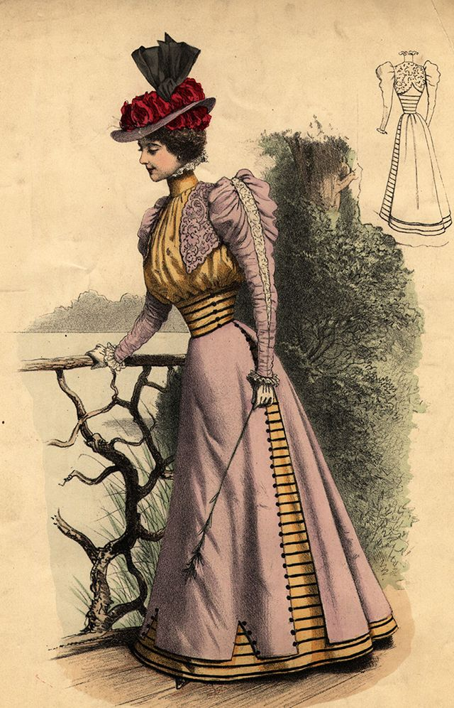 1900s edwardian fashion