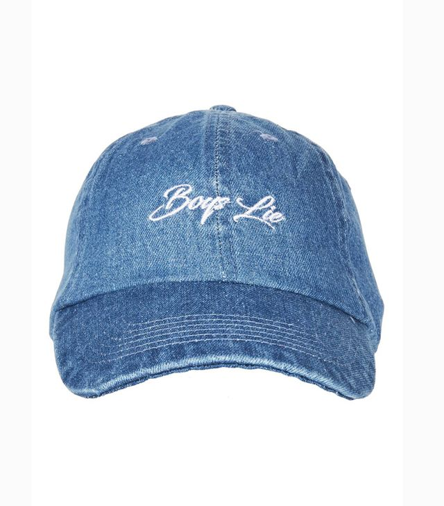 Topshop Boys Lie Denim Cap