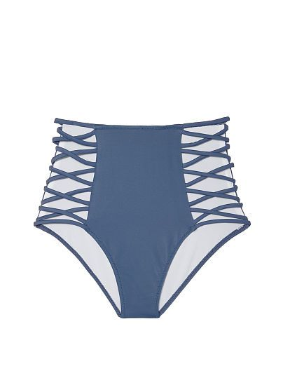 Victoria's Secret Pink High Waist Strappy Bikini Bottoms