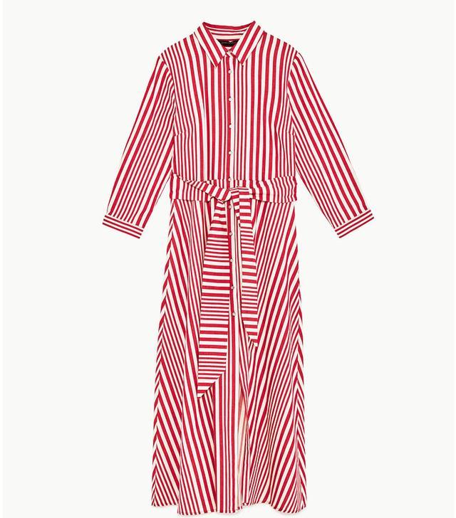 This Is How To Buy Zara On eBay: Zara Striped Shirt-Style Tunic