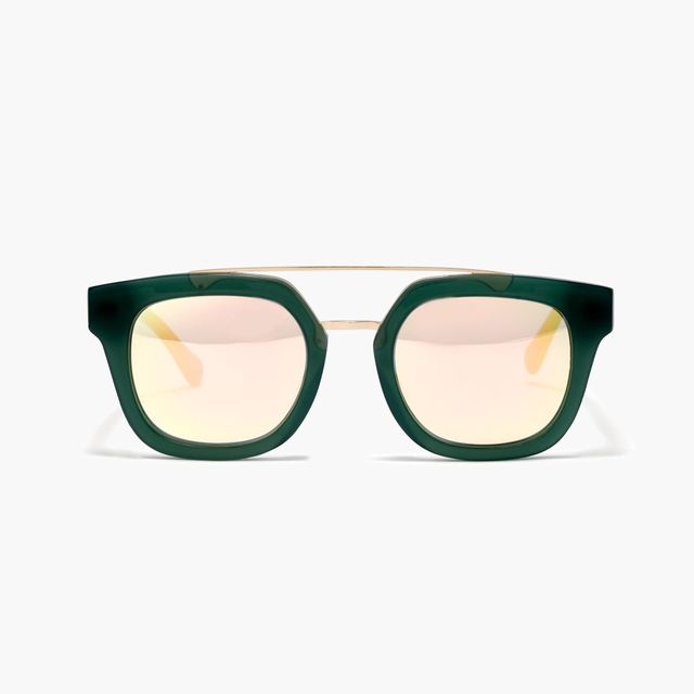 Madewell Surfrider Foundation Top-Bar Sunglasses in Spruce