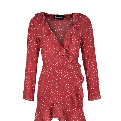 The Alexandra Dress in Red Star