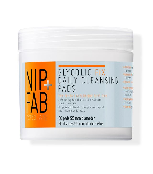 nip and fab glycolic fix pads review: Nip+Fab Glycolic Fix Daily Cleansing Pads