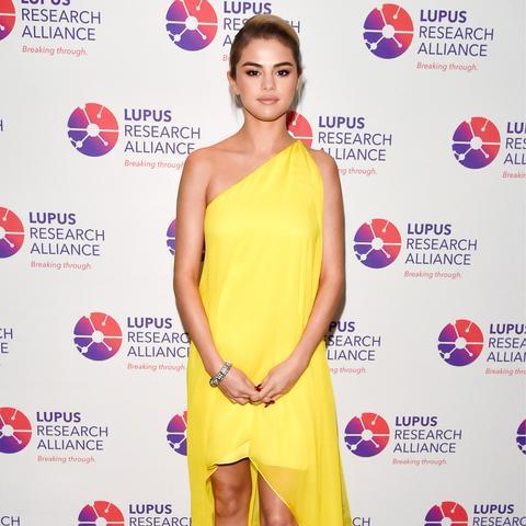 Selena Gomez Lupus Gala