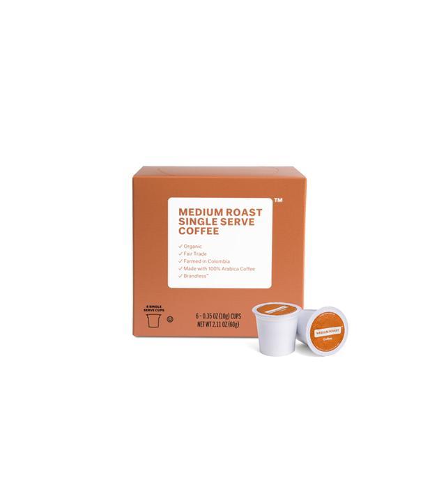 Brandless Organic Fair Trade Medium Roast Coffee Pods