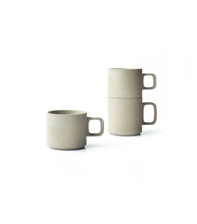 Hasami Unglazed Japanese Porcelain Mugs