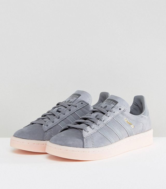 These Are the Most Aging Shoe Styles: Campus Trainers in Dark Gray