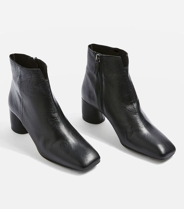 These Are the Most Aging Shoe Styles: Marilo Cut Out Ankle Boots