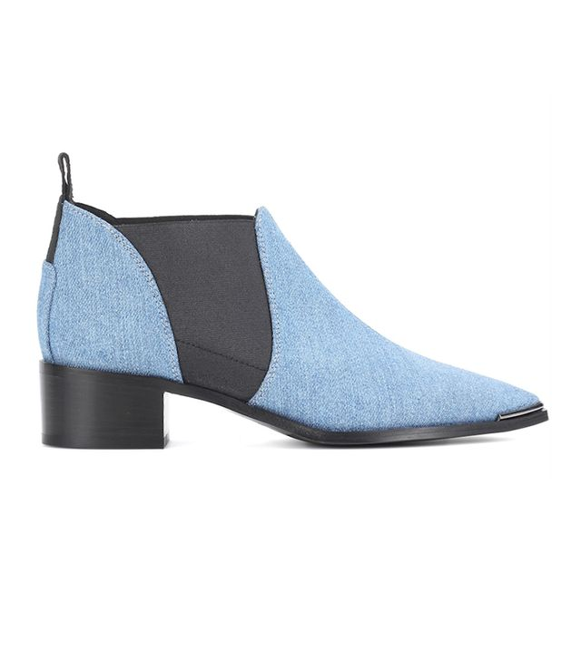 These Are the Most Aging Shoe Styles:Jenny denim ankle boots