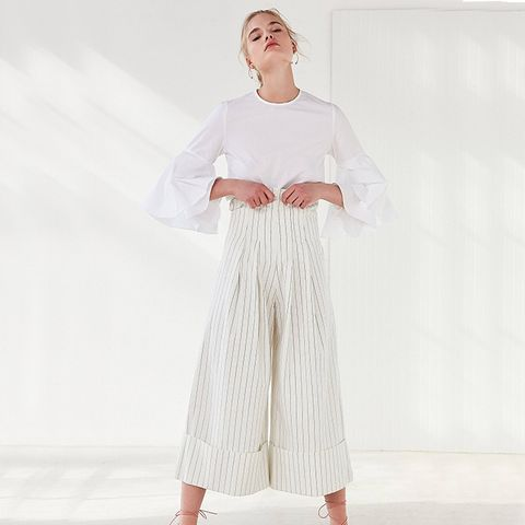 High-Rise Wide-Leg Pants