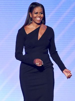 Michelle Obama's Shoes Are So Perfect for Her Striking Outfit