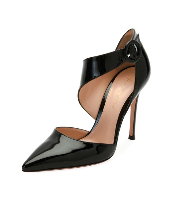 Patent Asymmetric Pointed-Toe Pump