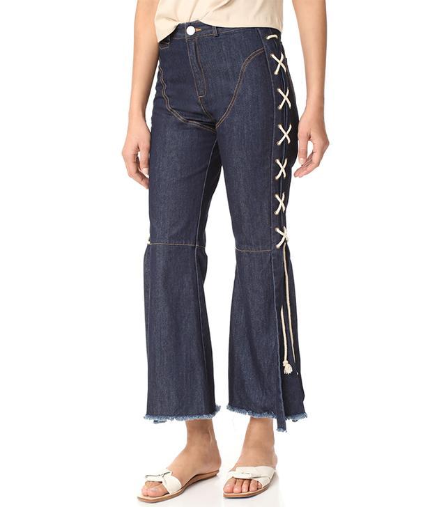 Unusual Summer 2017 Trends: Desert Day Jeans