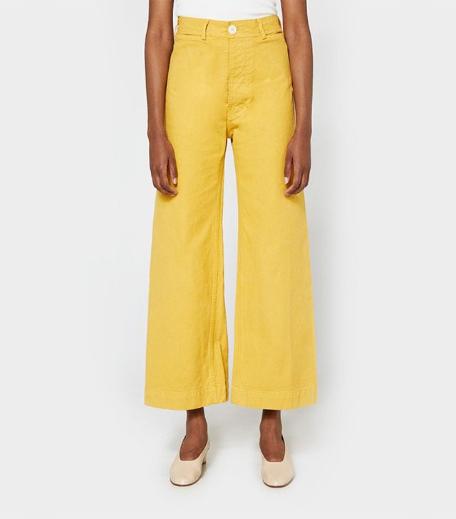 Unusual Summer 2017 Trends: Sailor Pant in Caribbean Gold