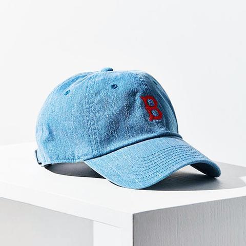 Danbury Denim Boston Baseball Hat