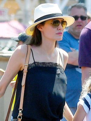 Angelina Jolie Wore the Perfect On-Sale Sandals to Disneyland