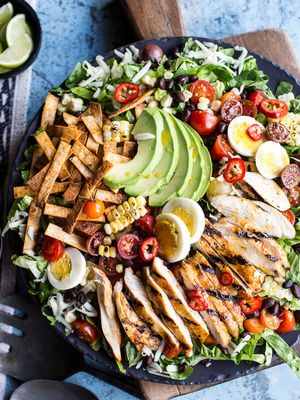 This Mexican Salad Is Insanely Easy to Make (It Has 220,000 Saves on Pinterest)