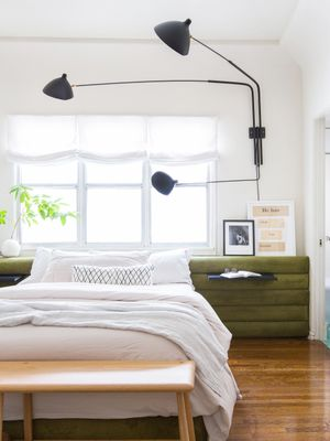 This Cool Eclectic Bedroom Will Make You Green With Envy