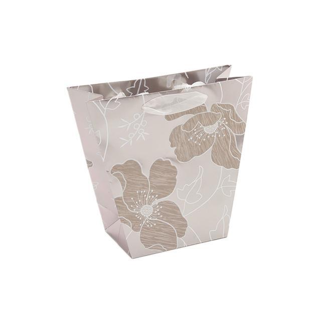 metallic gift bag