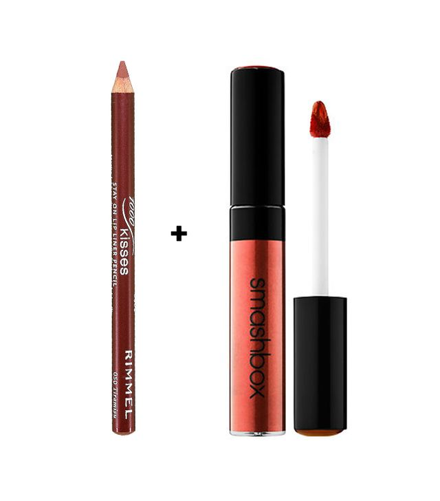 Lasting Finish 1000 Kisses Stay On Lip Liner Pencil - Nude