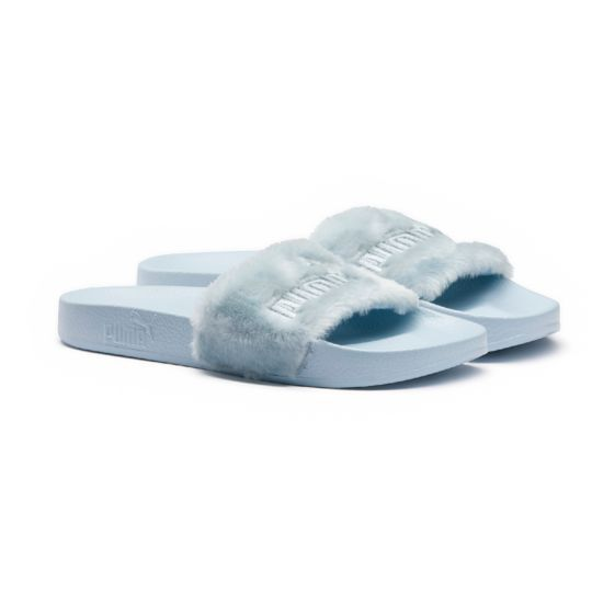 Fenty Puma by Rihanna Slide Sandals in Cool Blue