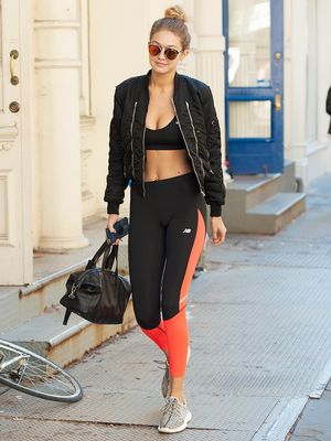 The One Outfit Every Celebrity Wears to Work Out