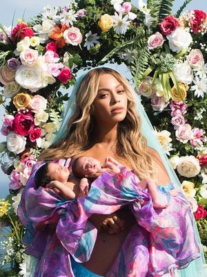 Beyoncé Just Revealed Her Twins' Baby Names on Instagram