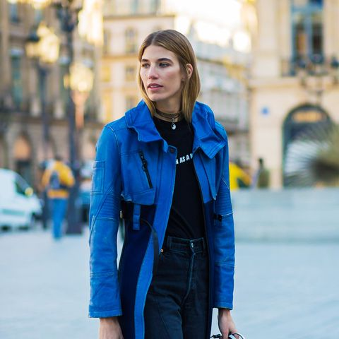 Tomboy chic outfits: Veronika Heilbrunner