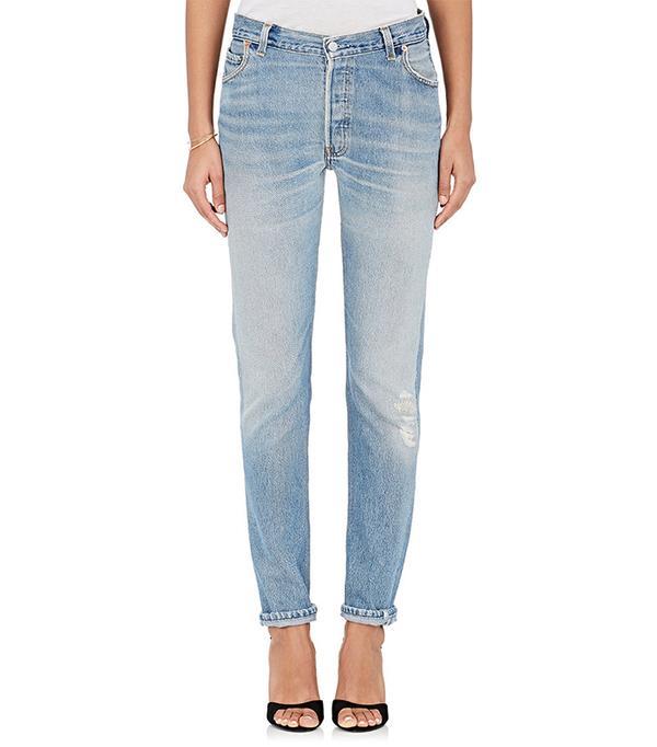 Women's Straight Skinny Jeans