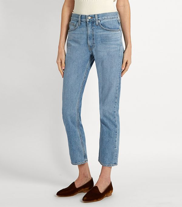 Wright straight-leg jeans