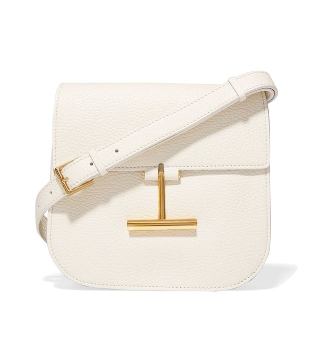 Tara Small Textured-leather Shoulder Bag
