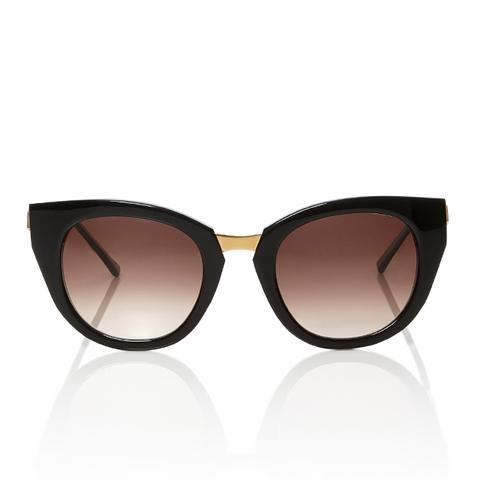 Snobby Acetate Cat-Eye Sunglasses