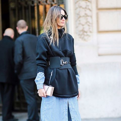 The Cool Way to Wear a Belt This Year