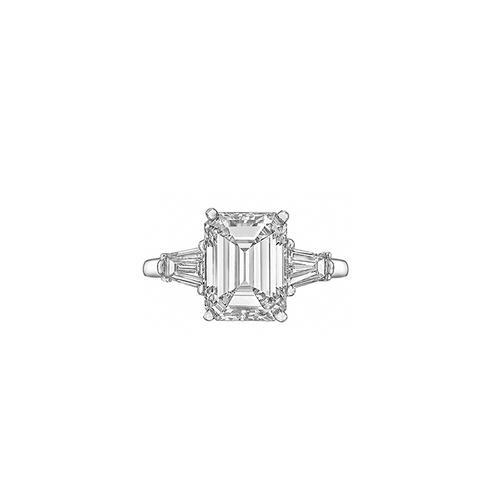 Carat Emerald-Cut Diamond Ring