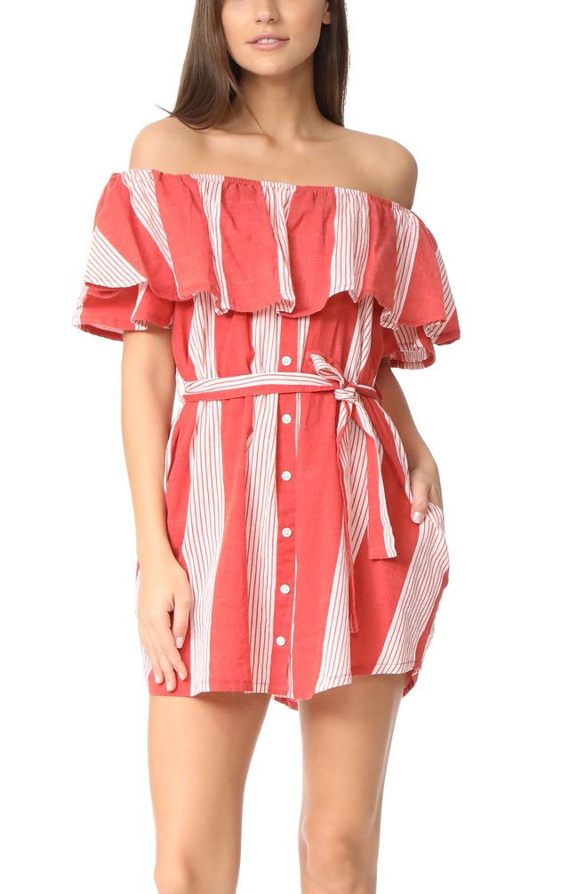 Faithfull Striped Dress