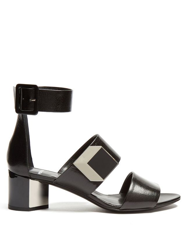 Pierre Hardy Black Sandals