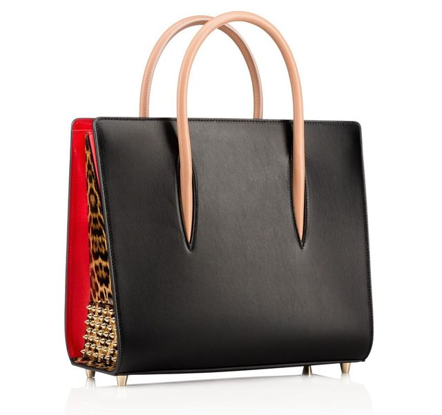 Christian Louboutin Tote Bag with Leopard Print