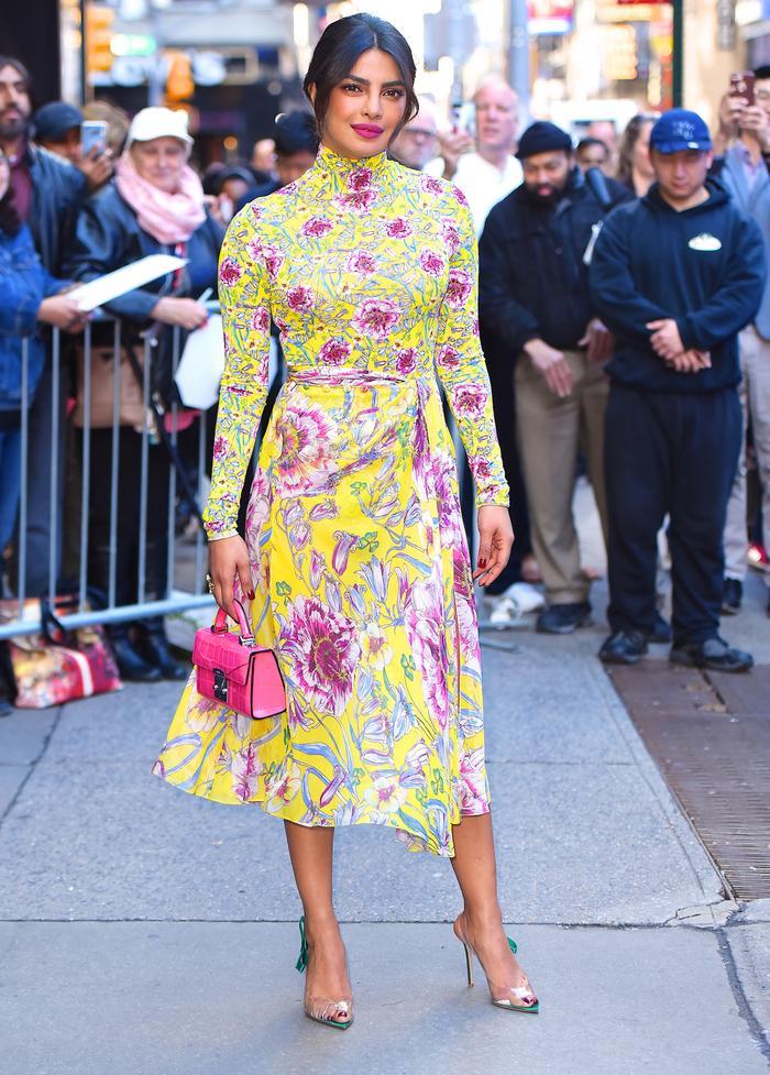Priyanka Chopra Style Floral Dress