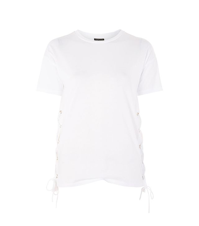 Side Lace Up T-Shirt