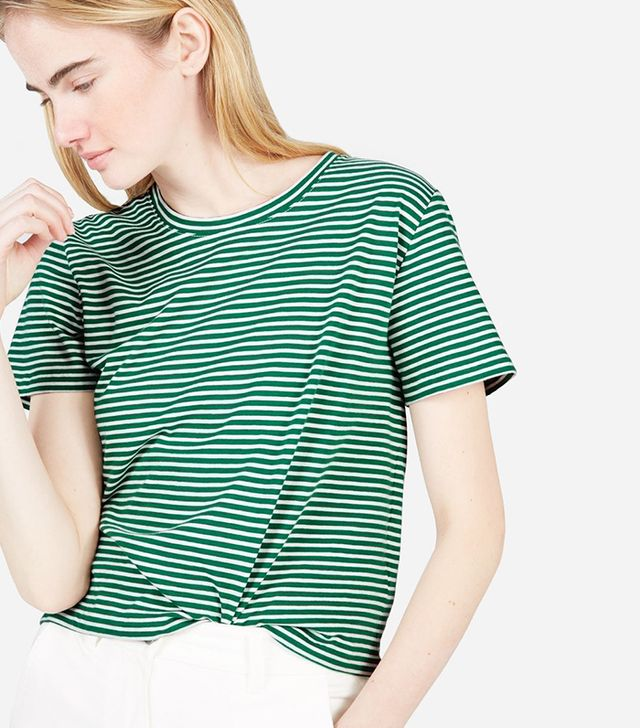 Women's Cotton Box-Cut T-Shirt