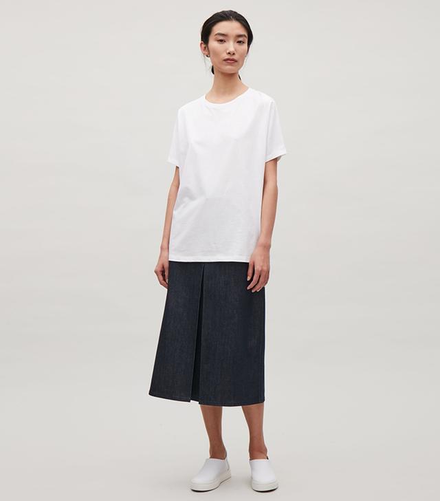 COS Oversized Kimono Sleeve T-Shirt