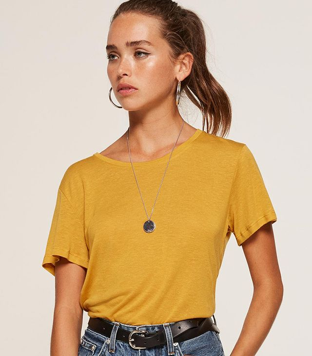 Flax Relaxed Crew Tee