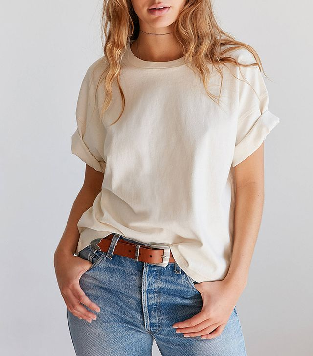 BDG Boston Oversized Ringer Tee