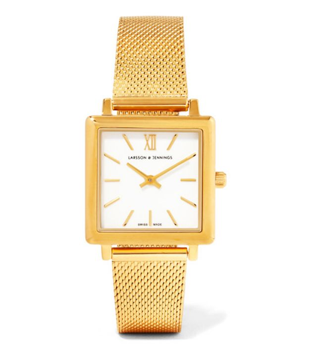 Larson & Jennings Norse Gold-Plated Watch