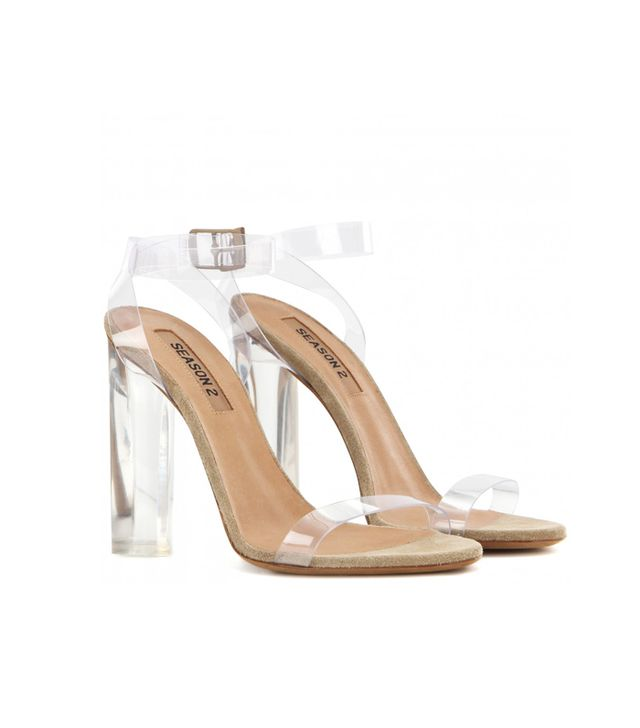 Best Clear Strap Shoes: Yeezy Season 2 Transparent Sandals