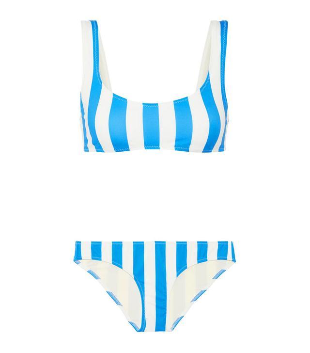 Solid & Striped The Elle Striped Bikini
