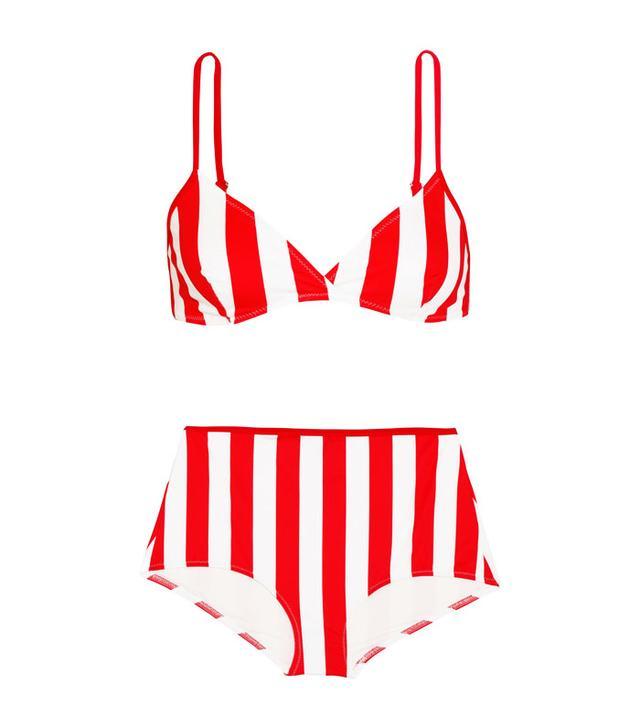 Solid & Striped The Brigitte Striped Bikini