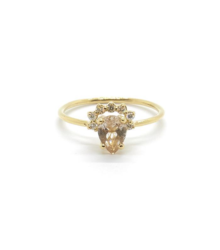 Stunning Non-Traditional Wedding Rings | MyDomaine